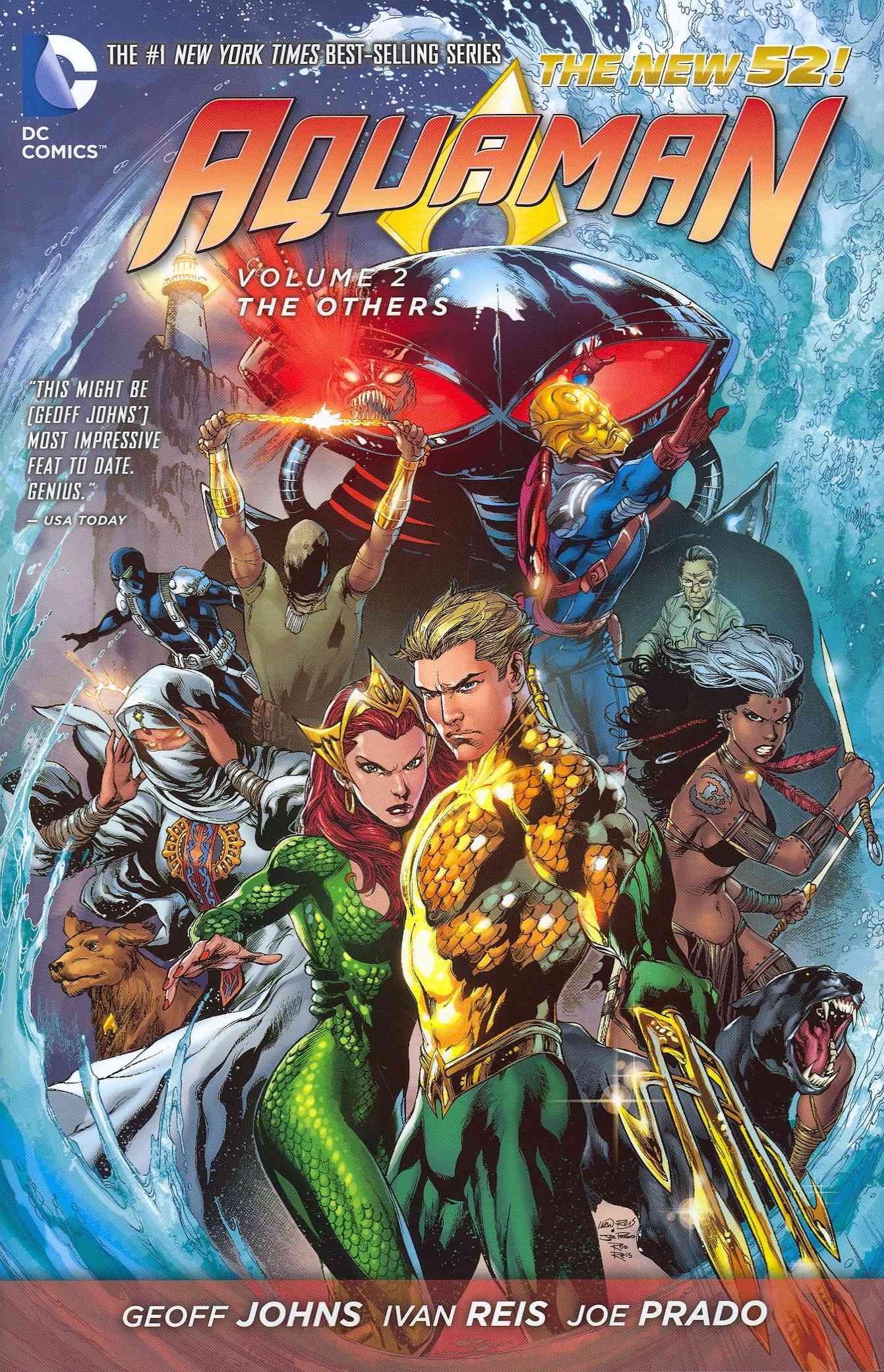 Aquaman 2 By Johns, Geoff/ Reis, Ivan (ILT)/ Prado, Joe (ILT)